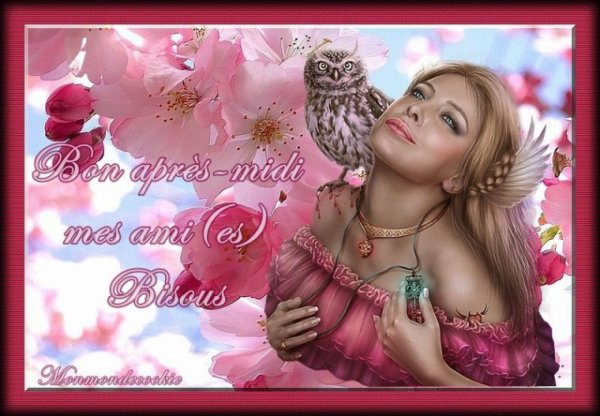 (☼♥☼) DE RETOUR ~♥♥~ DE CHEZ JOSIE ~♥♫♥~ CHOUETTES ~♥♥~ ROSES JAUNES (☼♥☼)