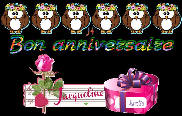 ~♥ ♫ 6 JUIN ♫ BON ANNIVERSAIRE ~♥~ 68 ANS ~♥~ POUR TOI MON AMIE DANIELLE ♫ ♥~