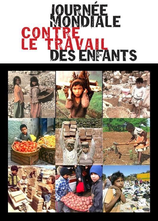 ~♥~ ☼ 12 JUIN ~♥~ JOURNÉE MONDIALE ☼ CONTRE LE TRAVAIL ☼ DES ENFANTS ☼ ~♥~