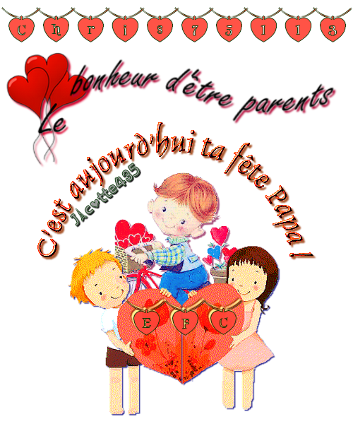 ~♥~ ☼ 18 JUIN ~♥~ MERCI JOSY et MARION ~♥~ FÊTE des PÈRES ~♥~ pour CHRIS ☼ ~♥~ ~♥~ http://chris75113.skyrock.com/ ~♥~