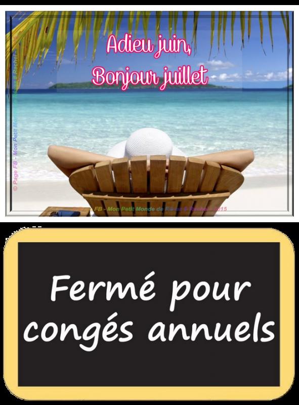 (☼♥☼) ♥♫♥ AU REVOIR JUIN ♥♫♥ BONJOUR JUILLET ♥♫♥ BONNES VACANCES  aux  ♥♫♥  ♥♫♥ JUILLETISTES  ♥♫♥ (☼♥☼)