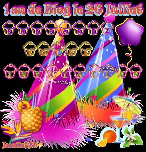(☼♥☼) ♫ VOS INVITATIONS ~♥~ pour la Soirée du 26 JUILLET ~♥~ CRÉATIONS PERSONNALISÉES à VOTRE PRÉNOM ~♥~ FAITES votre CHOIX ♫ (☼♥☼) ~♥~ 01