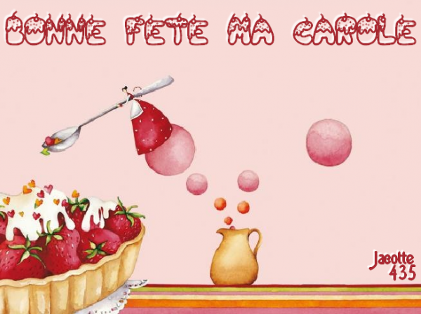 (☼♥☼) ♥♫♥ 17 JUILLET ~♥~ Ste CHARLOTTE ~♥~  BONNE FÊTE ~♥~  CAROLE ♥♫♥ (☼♥☼) ~♥~ MA FILLE ~♥~