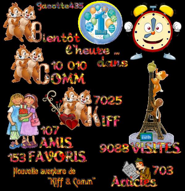 (☼♥☼) ♥♫♥ NOUVEL ARRIÈRE-PLAN ~♥~ 10 000 COMM ~♥~ 1 AN  ~♥~ DE BLOG ♥♫♥ (☼♥☼)  (☼♥☼) ~♥~ MERCI POUR VOTRE AMITIÉ ~♥~ A CE SOIR ~♥~ (☼♥☼)
