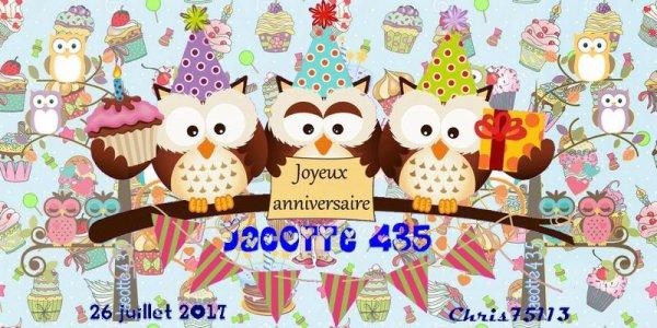 (☼♥☼) ♥♫♥ 26 JUILLET ~♥~ 1 AN DE BLOG ~♥~ CADEAUX RECUS ♥♫♥ (☼♥☼) ~♥~ 01