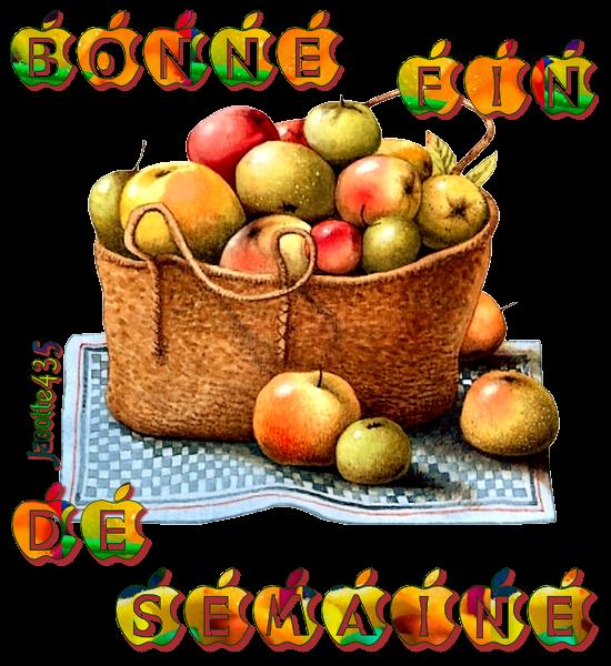 ♥♫♥ ~♥~ SEPTEMBRE ~♥~ CUEILLETTE DE POMMES ~♥~ DANS MON JARDIN ~♥~ ♥♫♥