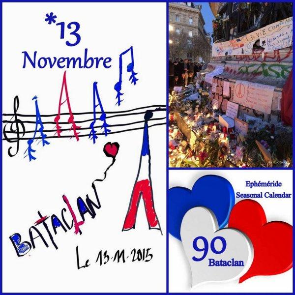 ♥♫♥ 13 NOVEMBRE 2015 ♥ BATACLAN ♥ POUR NE PAS OUBLIER ♥♫♥ MAIS ESPÉRER ♥♫♥ ~♥~ QUE CELA S'ARRÊTE ~♥~