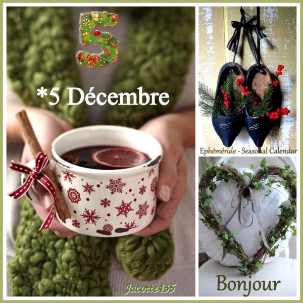 (☼♥☼) ♥♫♥ 5 DÉCEMBRE ♥♫♥ CALENDRIER DE L'AVENT ~♥~ St GÉRALD ♥♫♥ (☼♥☼)