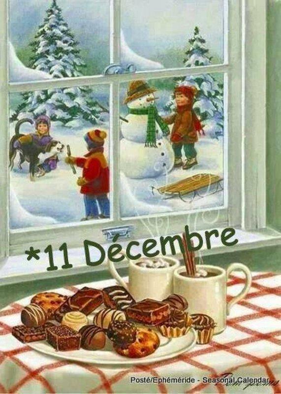 (☼♥☼) ♥♫♥ 11 DÉCEMBRE ♥♫♥ CALENDRIER DE L'AVENT ~♥~ St DANIEL ♥♫♥ (☼♥☼)