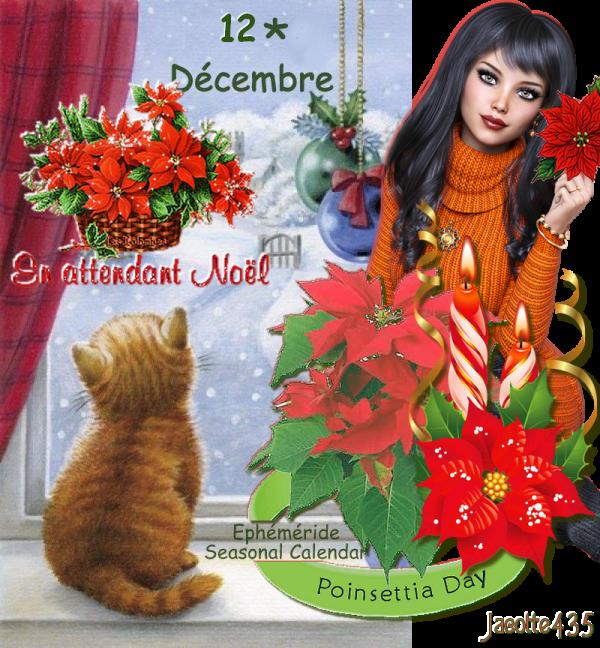 (☼♥☼) ♥♫♥ 12 DÉCEMBRE ♥♫♥ CALENDRIER DE L'AVENT ~♥~ Ste CHANTAL ♥♫♥ (☼♥☼)