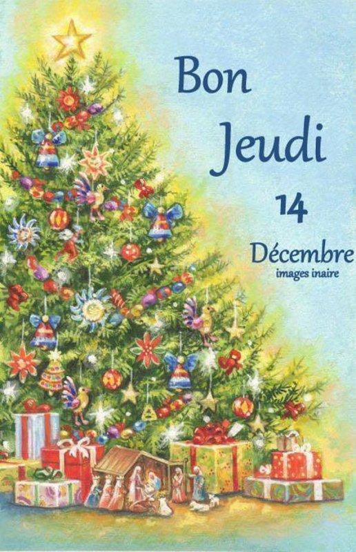 (☼♥☼) ♥♫♥ 14 DÉCEMBRE ♥♫♥ CALENDRIER DE L'AVENT ~♥~ Ste ODILE ♥♫♥ (☼♥☼)