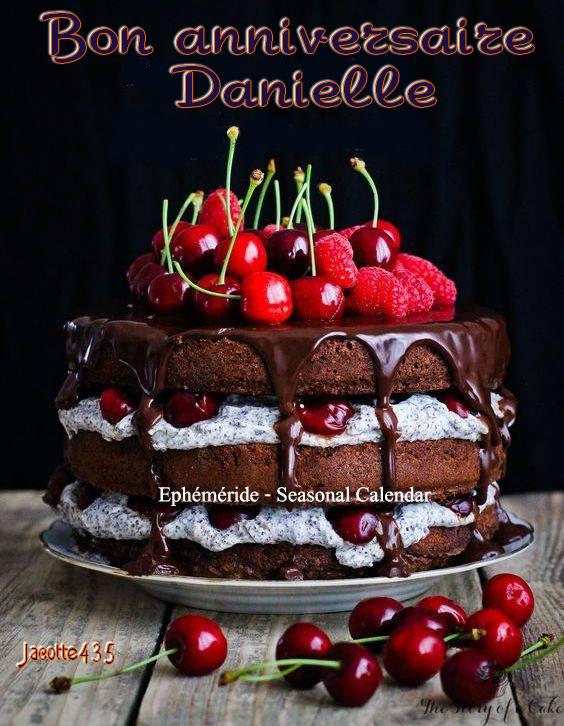 (☼♥☼) ♥♫♥ 15 DÉCEMBRE ♥♫♥ BON ANNIVERSAIRE COPINETTE DANIELLE ♥♫♥ (☼♥☼)
