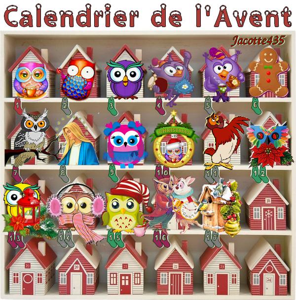 (☼♥☼) ♥♫♥ 17 DÉCEMBRE ♥♫♥ CALENDRIER DE L'AVENT ~♥~ St GAËL ♥♫♥ (☼♥☼)