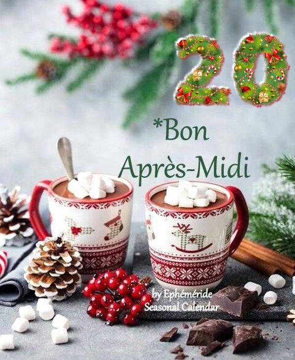 (☼♥☼) ♥♫♥ 20 DÉCEMBRE ♥♫♥ CALENDRIER DE L'AVENT ~♥~ St THÉOPHILE ♥♫♥ (☼♥☼)