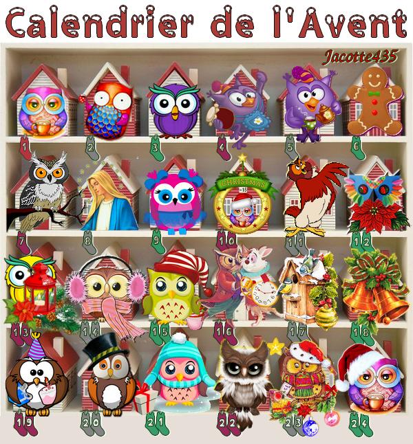 (☼♥☼) ♥♫♥ 24 DÉCEMBRE ♥♫♥ CALENDRIER DE L'AVENT ~♥~ Ste ADÈLE ♥♫♥ (☼♥☼)