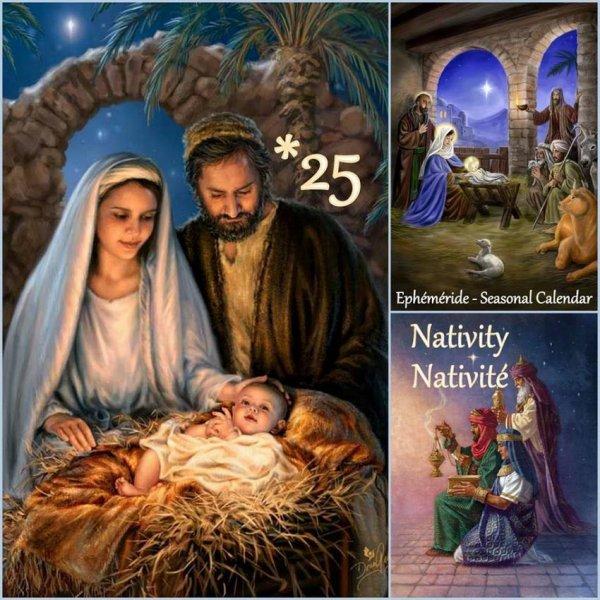 (☼♥☼) ♥♫♥ 25 DÉCEMBRE ♥♫♥ JOYEUX NOËL ~♥~ MES AMI(E)S ♥♫♥ (☼♥☼)