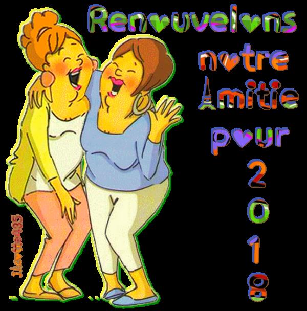 ♥♫♥ RENOUVELONS ♥ NOTRE AMITIÉ ♥ EN 2018 ♥ SIGNATURES A LA DEMANDE ♥♫♥ - 1