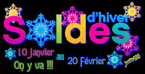 ♥♫♥ SOLDES ♥♫♥ 10 JANVIER ♥♫♥ 20 FÉVRIER ♫ D'HIVER ♥♫♥