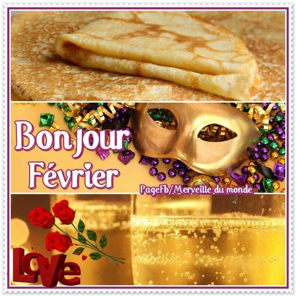 ♥♫♥ AU REVOIR ~♥~ JANVIER ~♥~ BONJOUR ~♥~ 1er FÉVRIER ~♥~ BONNE NUIT ♥♫♥