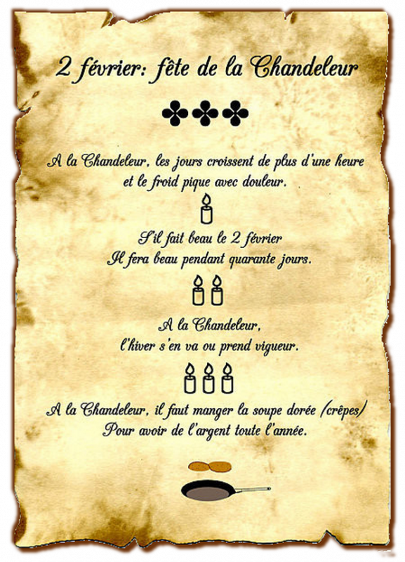 ♥♫♥ 2 FÉVRIER ~♥~ CHANDELEUR ~♥~ CRÊPES ~ PARTY ~♥~ RÉGALEZ-VOUS ♥♫♥