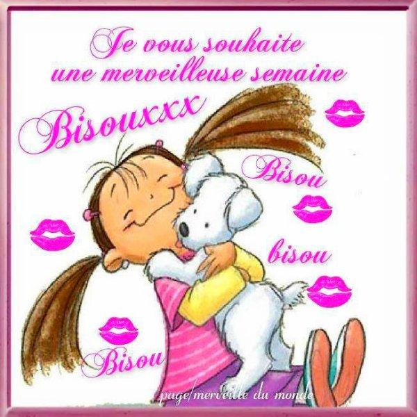 ♥♫♥ BONNE SEMAINE ~♥~ MERCI ~♥~ CATH & MARION ~♥~ @ + JE FERME ♥♫♥