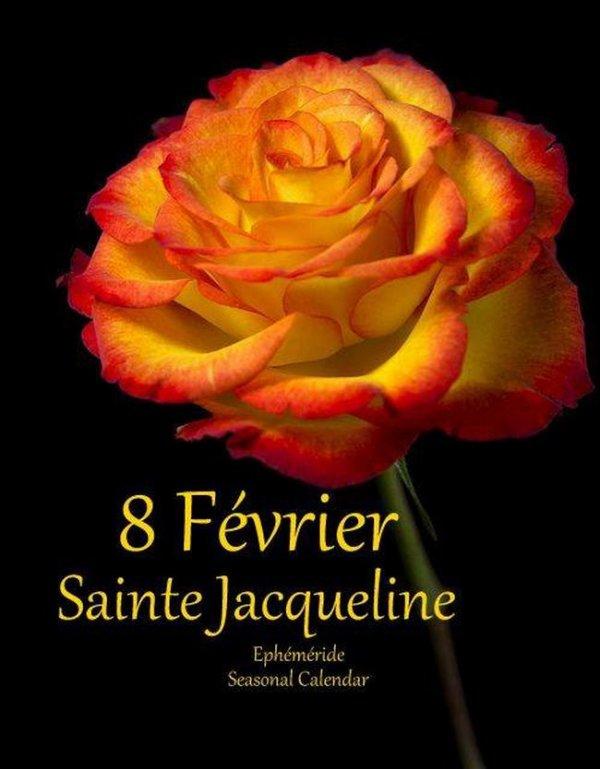 ♫♥ 8 FÉVRIER ~♥~ BONNE FÊTE ~♥~ AUX JACQUELINE ~♥~ ET MERCI ♥♫♥
