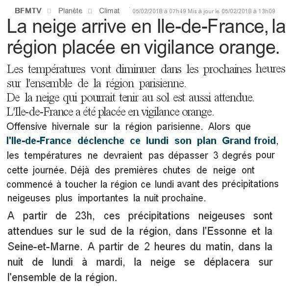 ♥♫♥ FÉVRIER ~♥~ SEMAINE de NEIGE ♥ en ILE-DE-FRANCE ♥ VIGILANCE ORANGE ♥♫♥  ♥♫♥ ATTENTION au VERGLAS - 01  ♥♫♥