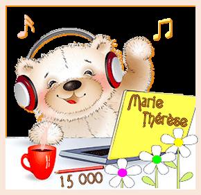 ♥♫♥ 19 FÉVRIER ~♥~ MERCI MES AMI(E)S ~♥~ POUR VOS 15 000 COMMS ~♥~ MERCI ~♥~ ~♥~ MARIE-THÉRÈSE ♥♫♥