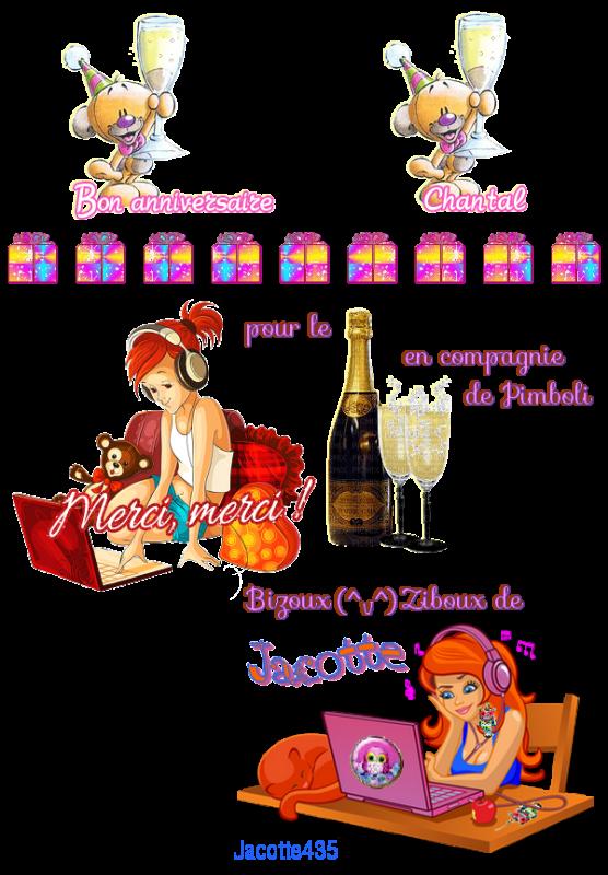 ♥♫♥ MERCI CATH ♥ & LES COPINETTES ♥ POUR MON ANNIVERSAIRE ♥ 05 MARS ♥ 1/5 ♥♫♥