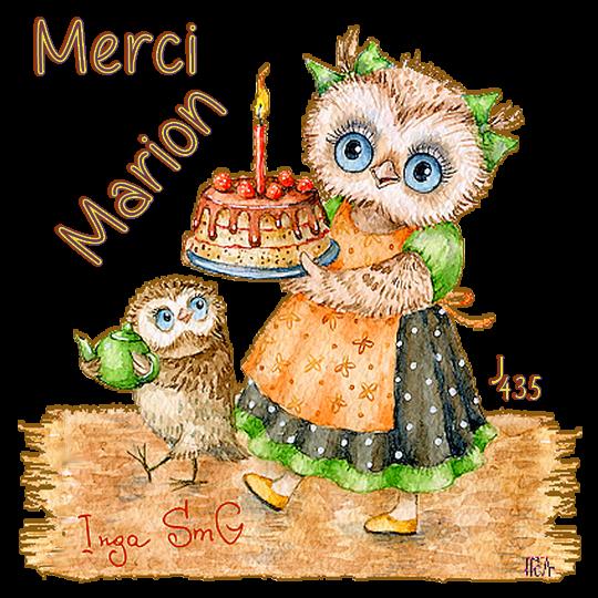 ♥ MERCI MON AMIE MARION (☼♥☼) BEAUX HIBOUX (☼♥☼) POUR MON ANNIVERSAIRE ♥ 05 MARS ♥ ♥♫♥ http://marion3351.skyrock.com/ ♥♫♥