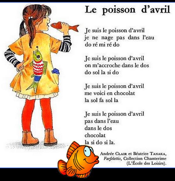 ~♥~ ☼ 1er AVRIL ♫ POISSON D'AVRIL ♫ AMUSEZ-VOUS BIEN ♫ @ TOUT à L'HEURE ☼ ~♥~