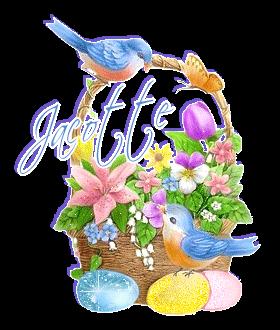 ~♥~ ♫ WEEK-END de PÂQUES ☼ 31 MARS au 2 AVRIL ☼ MERCI pour tes CADEAUX ♫ ~♥~ ~♥~ ☼ ♫ JOSIE ~♥~ http://josie2arles.skyrock.com/ ♫ ☼ ~♥~ 4/4