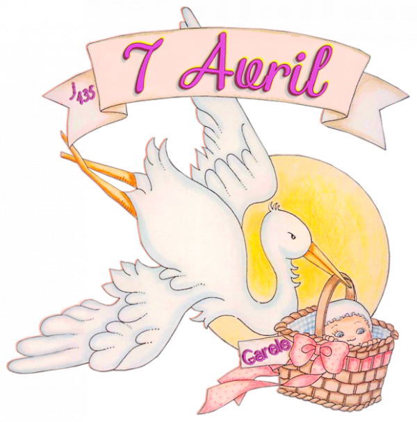 ♥ ♫ 07 AVRIL ♫ ☆ ☼ ♫ BON ANNIVERSAIRE ♫ ☼ ☆ ♫ A MA FILLE CAROLE ☆ 44 ANS ♫ ♥