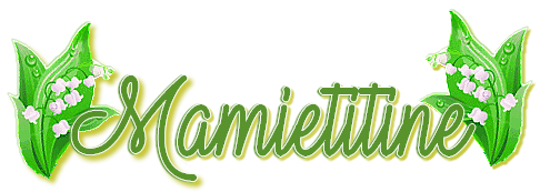 ~♥~ ♫ ☆ MERCI MARTINE ♫ POUR TON CADEAU MUGUET ☼ ♫ ☼ MAMIETITINE ☼ ♫ ~♥~ ~♥~ http://mamietitine.centerblog.net/ ~♥~