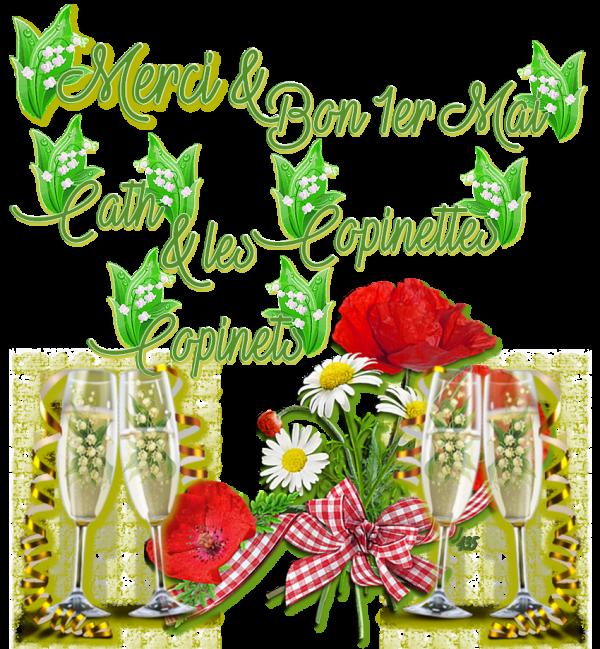 ~♥~ ♫ MERCI MA CATH ☆ ♫ ☆ POUR TON CADEAU MUGUET ☼ ♫ ☼ DECOKLANE ♫ ~♥~ ~♥~ http://signaturesdecoklane.eklablog.com/ ~♥~