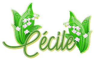 ~♥~ ♫ SIGNATURES ♫ MUGUET ☼ ♫ ☼ POUR COPINETTES & COPINETS ☼ ♫ ~♥~ 03_03 ~♥~ http://signaturesdecoklane.eklablog.com/ ~♥~