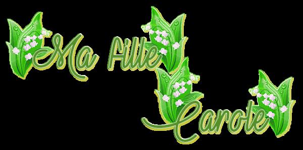 ~♥~ ♫ ☼ MUGUET ♥ PARFUMÉ ♥ DU JARDIN ☼ ♫ ☼ MERCI ♥ MA FILLE ♥ CAROLE ☼ ♫ ~♥~