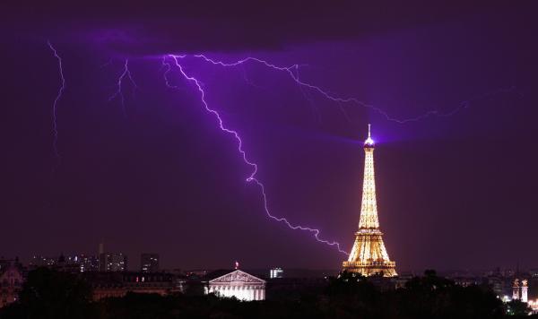 ♥♫♥ 11 JUIN ♥ St BARNABÉ ♥ MÉTÉO ♥ PARIS ♥ ORAGES ♥ FORTES PLUIES ♥  ENCORE ♥♫♥