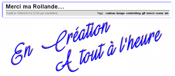 ♥♫♥ MERCI MA R♡LLANDE & MARTINE ~♥~ LA GANG DES 6 AMIES ~♥~ DE C♡EUR ♥♫♥  ♥♫♥ http://mamietitine.centerblog.net/ ♥♫♥
