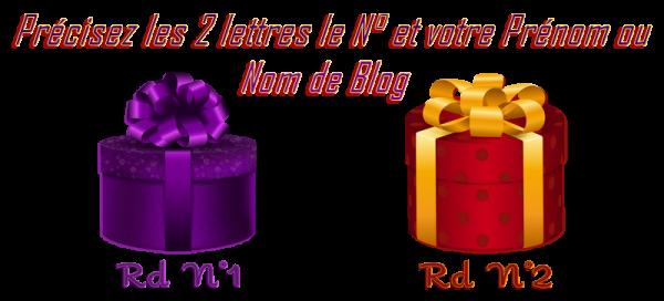 ♥ DISTRIBUTION de CADEAU à VOTRE PRÉNOM ♥ pour le 26 JUILLET ♥ 2 ANS de BLOG ♥ ♥ ROND ~♥~ 01