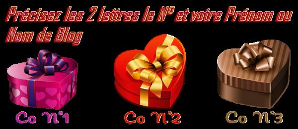 ♥ DISTRIBUTION de CADEAU à VOTRE PRÉNOM ♥ pour le 26 JUILLET ♥ 2 ANS de BLOG ♥ ♥ COEUR ~♥~ 02