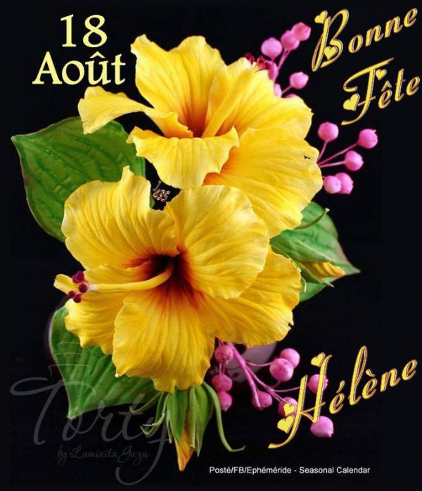 ♪ ♥ ♪ 18 AOÛT ♪ ♥ ♪ BONNE FÊTE MA BELLE HÉLÈNE ♪ ♥ ♪ UN TOUR A GRANVILLE ♪ ♥ ♪