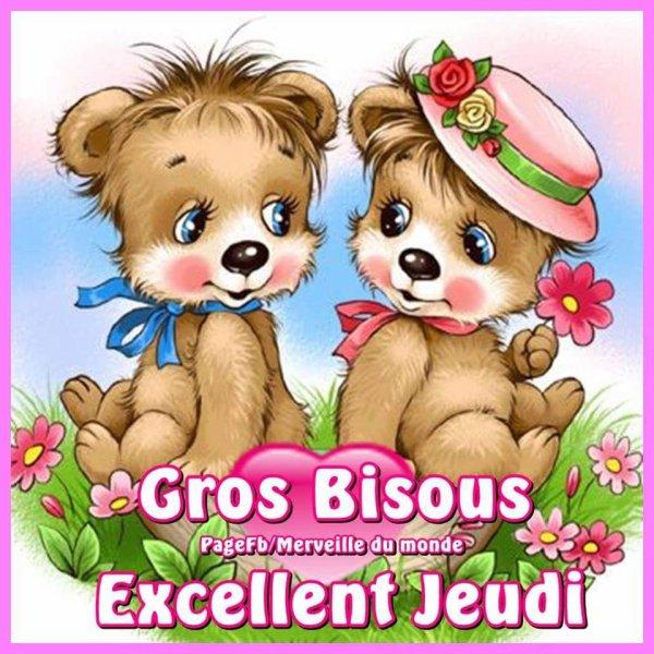 ♫ ☆ ♫ MERCI ~♥~ MARION ♫ ☆ ♫ BONNE NUIT ♫ ☆ ♫ OURSON ♫ ☆ ♫ BON JEUDI ♫ ☆ ♫ ~♥~ http://marion3351.skyrock.com/ ~♥~