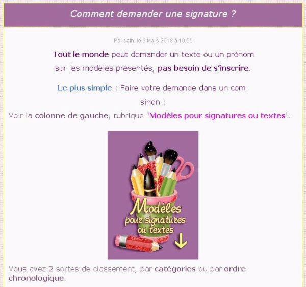 ♫ ☆ CHOUETTE D'AUTOMNE ♫ ☆ ♫ BELLE SIGNATURE ♫ ☆ ♫ MERCI ☼ MA CATH ☆ ♫ ~♥~ http://signaturesdecoklane.eklablog.com ~♥~