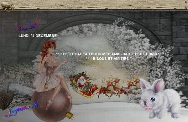 ☆ * ★ ☾ ♥♫♥ CADEAUX REÇUS ♥♫♥ FIN D'ANNÉE ♥ NOUVEL AN ♥♫♥ MERCI ♥♫♥ ☾ ★ * ☆ ~♥~ 01 ~♥~