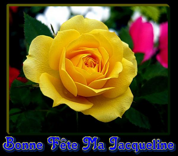 ☾ ☆ ☼ 8 FÉVRIER ❀~ BONNE FÊTE JACQUELINE ~❀ MERCI POUR LES CADEAUX ☼ ☆ ☾