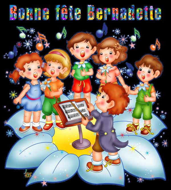 ♡ * ☆ ☼ ♫ 18 FÉVRIER ~❀~ BONNE FÊTE MON AMIE ~❀~ BERNADETTE ♫ ☼ ☆ * ♡