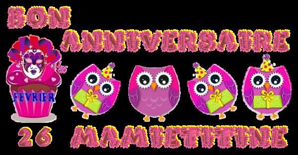 ✿ﻼღ♥ღ 26 FÉVRIER ♥ BON ANNIVERSAIRE ✿ﻼღ♥ღ MA DOUCE ✿ﻼღ MAMIETITINE ✿ﻼღ♥ღ ~♥~ http://mamietitine.centerblog.net/ ~♥~