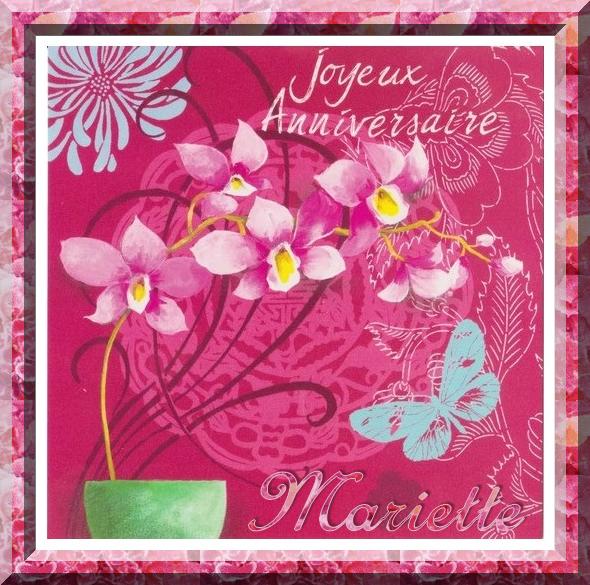 ✿ﻼღ♥ღ 08 MARS ✿ﻼღ♥ღ BON ANNIVERSAIRE ✿ﻼღ♥ღ MON AMIE MARIETTE ✿ﻼღ♥ღ  ✿ﻼღ♥ღ http://ORCHIDEEROSE.skyrock.com/  ✿ﻼღ♥ღ