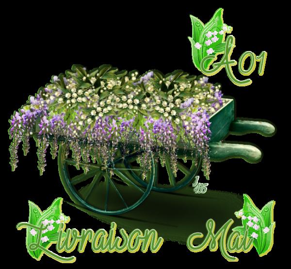✿ﻼღ♥ღ MAI ✿ﻼღ♥ PLUIE & SOLEIL ✿ﻼღ♥ LE MUGUET REFLEURIT ✿ﻼღ♥ LIVRAISON ✿ﻼღ♥ღ ~♥~ A ☆ 01 ~♥~